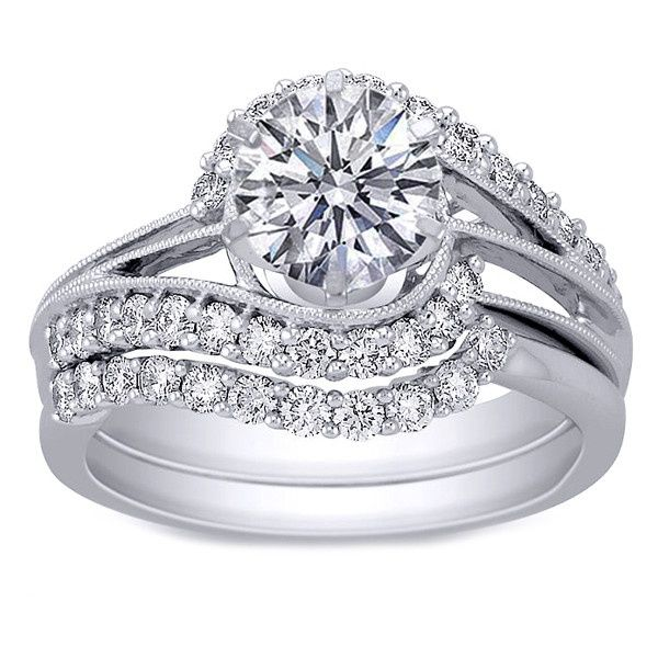 Best 25+ Interlocking Wedding Rings Ideas On Pinterest