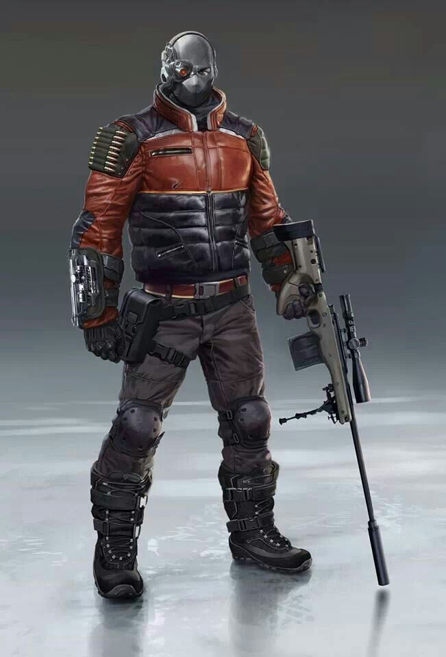 Deadshot - Batman: Arkham Origins | Deadshot art