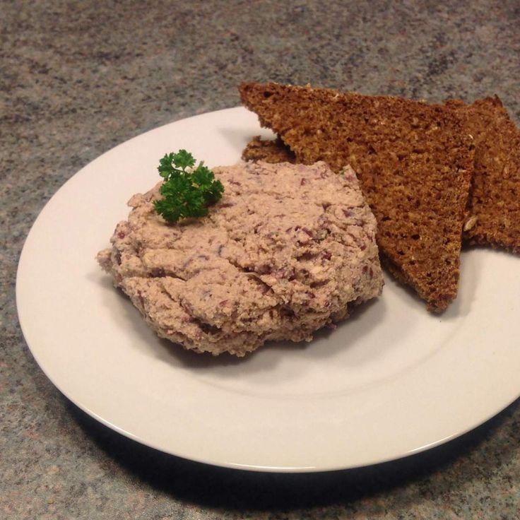Rezept Vegetarische Leberwurst von Kamu - Rezept der Kategorie Saucen/Dips/Brotaufstriche