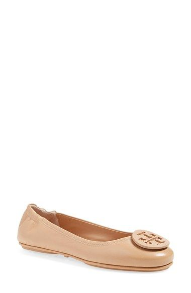 'Minnie' Travel Ballet Flat. Tory Burch ...
