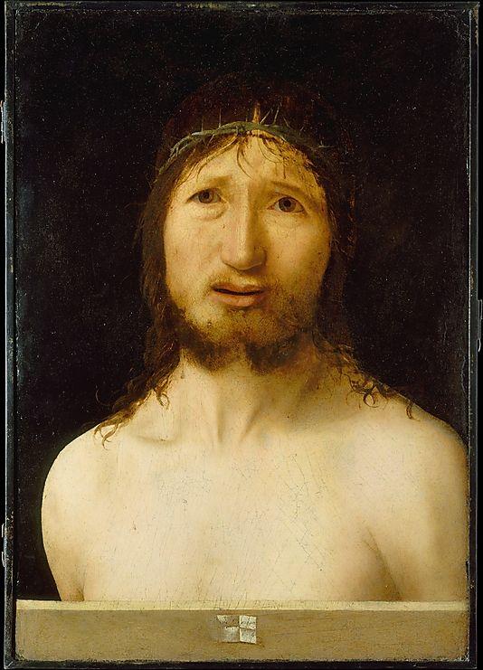 Christ Crowned with Thorns Antonello da Messina (Antonello di Giovanni dAntonio)  (Italian, Messina ca. 1430–1479 Messina)