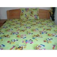 Lenjerii de pat copii Mickey, Minnie, Bunny si prietenii 220x240