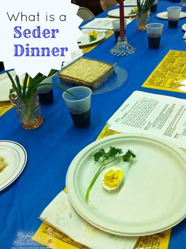 how to prepare a seder meal