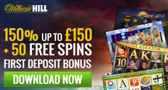 This bonus is for first time depositing new casino players only. Players that already have an account registered with William Hill Casino or who have taken a Welcome Bonus are not eligible for this promotion