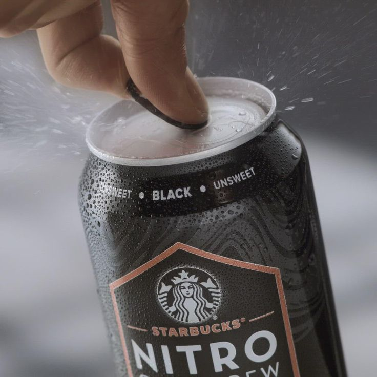 Starbucks Nitro Cold Brew [Video] Nitro cold brew