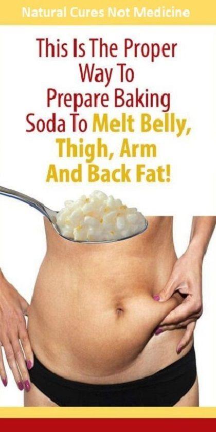 THIS IS THE PROPER WAY TO PREPARE BAKING SODA TO MELT BELLY, THIGH, ARM AND BACK FAT! #ThisIsTheProperWayToPrepareBakingSodaToMEltBellyThightArmBackFAt