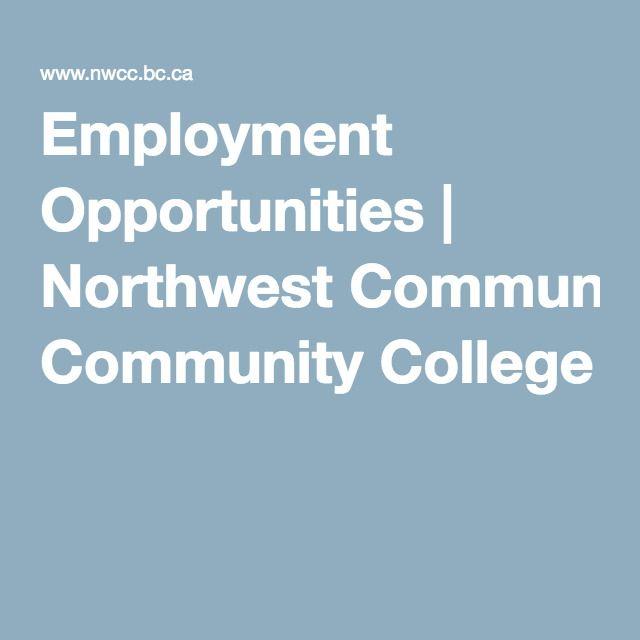 Employment Opportunities | Northwest Community College