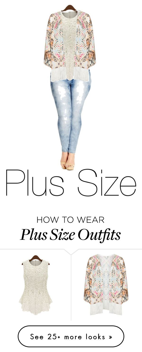 """Plus Size"" by lanvinbeauty on Polyvore featuring City Chic, Mat and plus size clothing"
