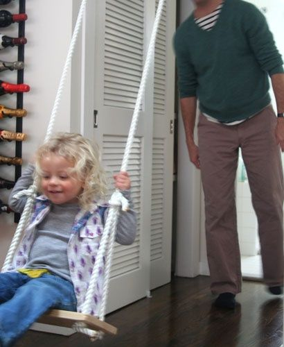 How To Build a Simple Indoor Swing