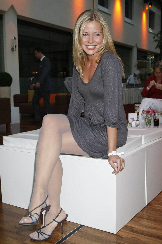 Sheer White Pantyhose Underneath Her 107