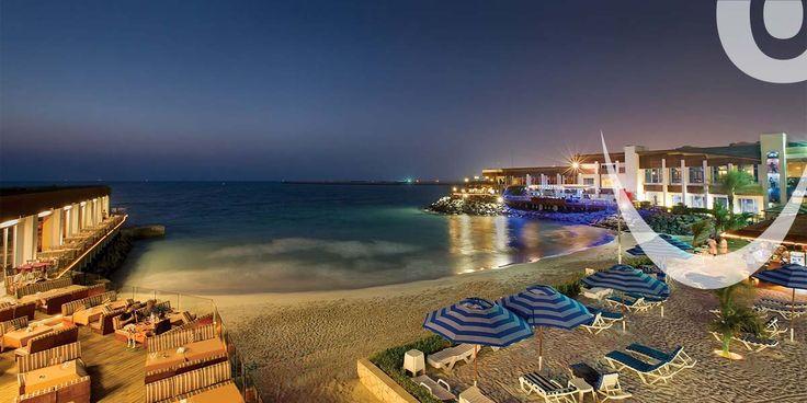 "One of the popular Dubai beach hotels ""DUBAI MARINE BEACH RESORT & SPA"""