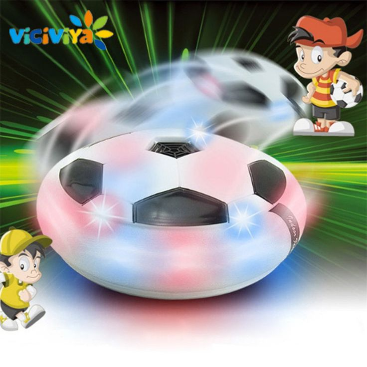 VICIVIYA Kids Levitate Suspending Football Light-up Toy Colorful LED Hover Ball Indoor Soft Floating Foam Football Soccer Toys ~