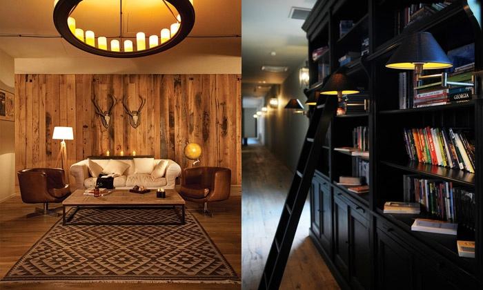 DesignMagazin.cz – Hotel v Kazbegi vsází na rustikálně moderní interiér
