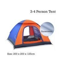 $45 Cheap 4 Person Backpacking Tent Sale Online 3-4 Man Lightweight Backpacking