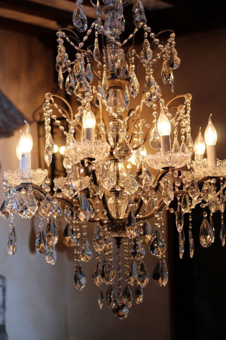 1091 best chandeliers images on pinterest chandeliers chandelier crystal chandelier dripping with prisms arubaitofo Images