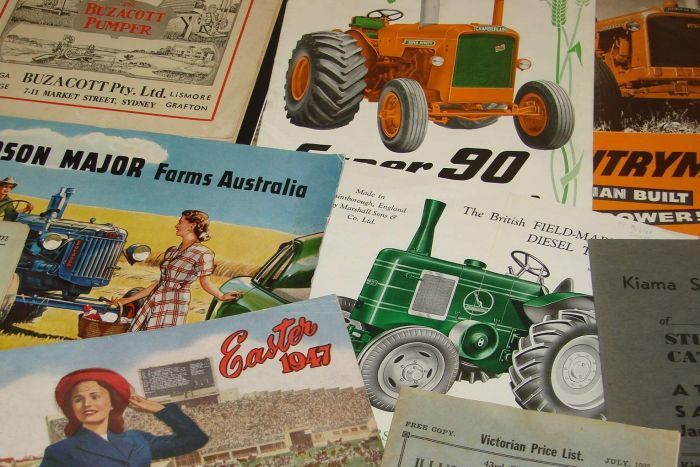 Farm catalogues are being sought by the National Library in Canberra. (Image: ABC Rural/Michael Cavanagh)