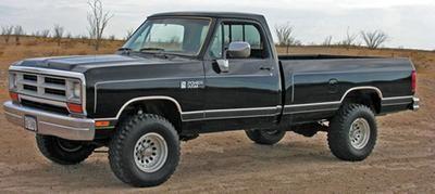 1989 Dodge Ram D100 4x4 318FI V8/4sp Manual