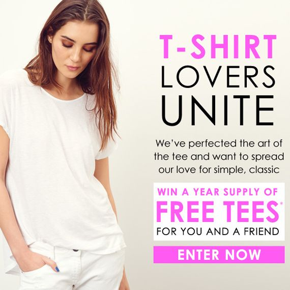 Love t-shirts? Win a year's supply of @MichaelStarsInc tees for you and a friend. CLICK TO ENTER!