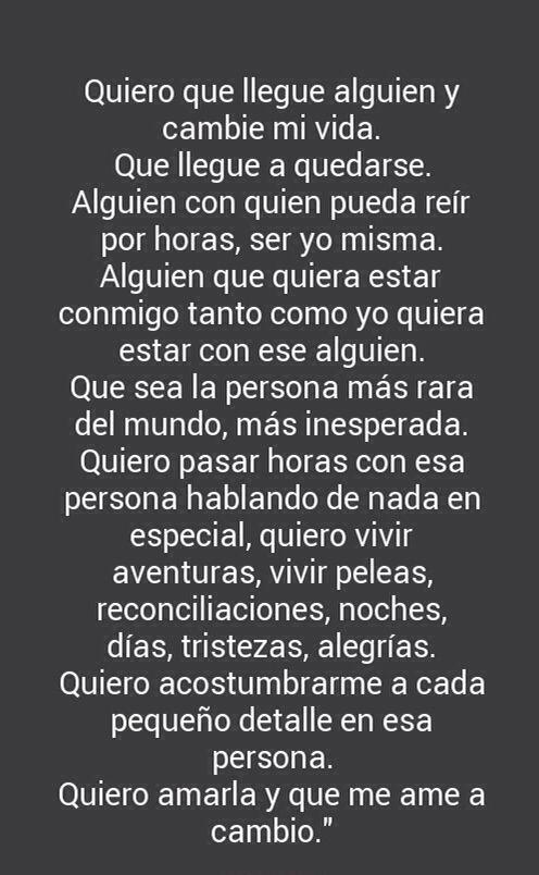 Palabras de Amor y de Aliento Quiero...
