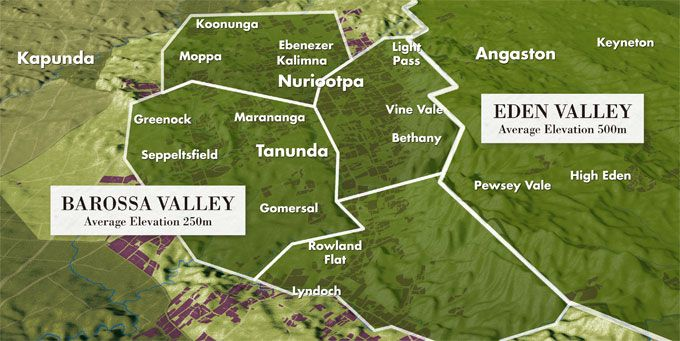 Barossa Valley Map South Australia All Things Aussie