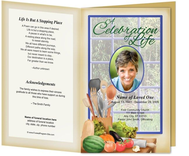 30 best Funeral Program Templates images on Pinterest Memorial - free funeral program template