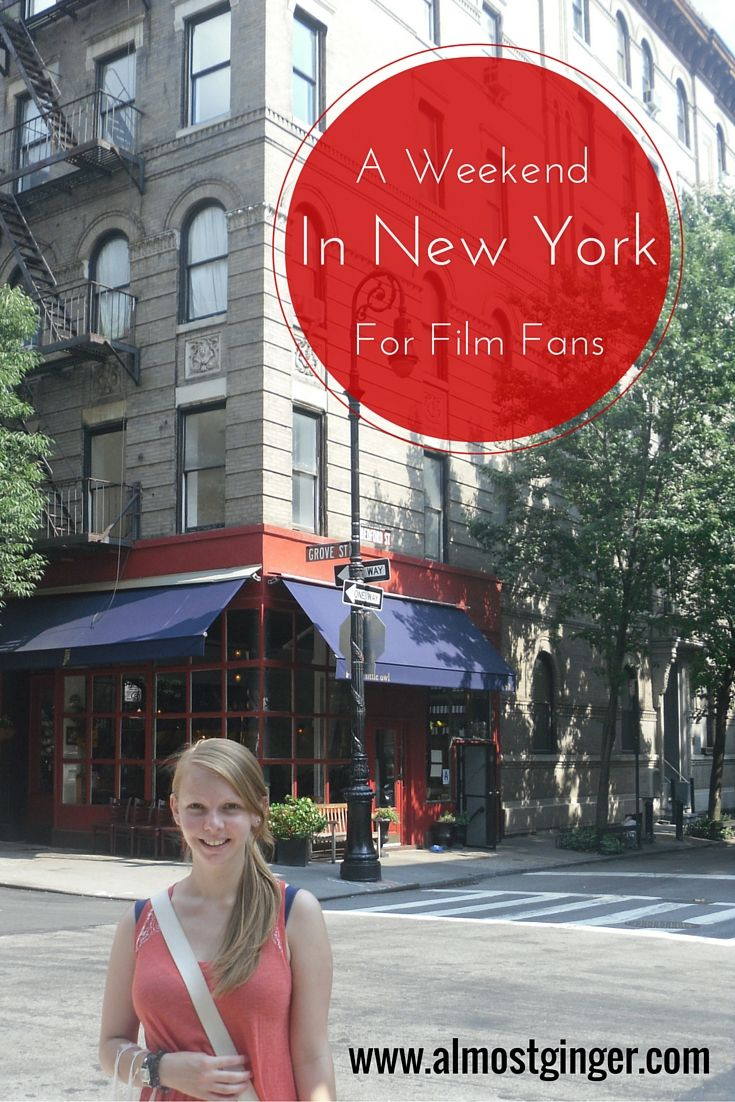 A Weekend in New York for Film Fans | almostginger.com
