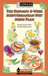 Looking for an approachable book all about the Mediterranean Diet?  The Oldways 4-Week Mediterranean Diet Menu Plan is just that!  Filled with recipes tips and more this book is the perfect way to get started with the Mediterranean Diet.