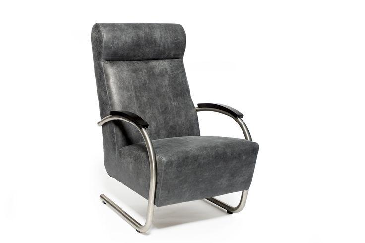 high back armchair Parma