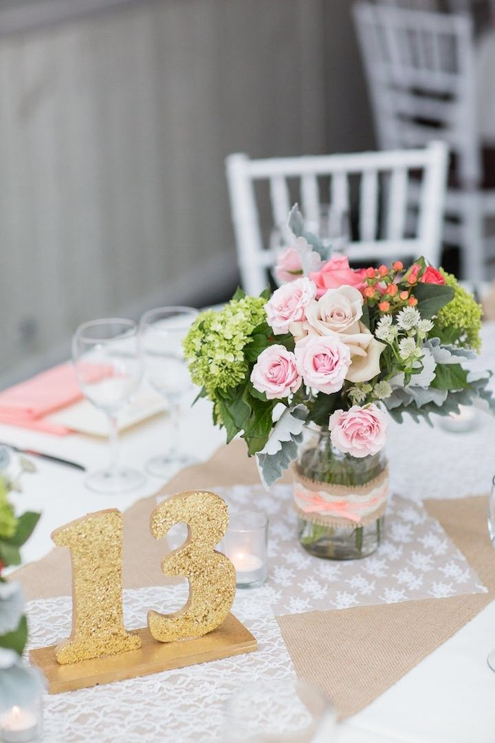 featured photo kelsey combe photography gold wedding reception table number idea