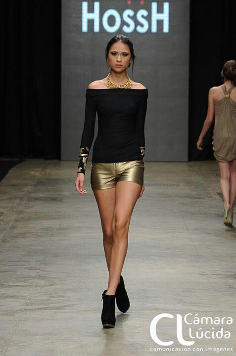Golden sexy in runway!  HossH 2013