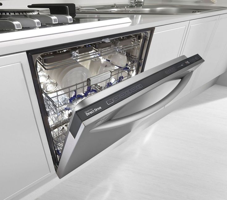 "LG 24"" Stainless Steel Fully Integrated Dishwasher - Energy Star"