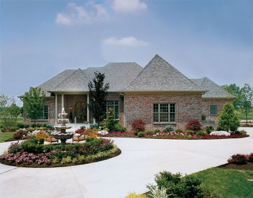 244 best home designs with great landscaping images on for Local house plans