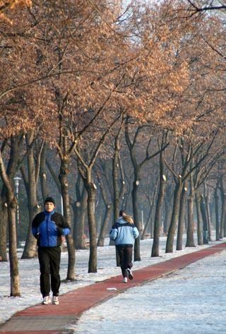futás télen egészségesen