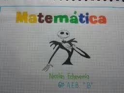Resultado de imagen para caratulas de matematica