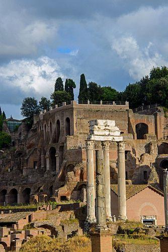 Rome: Palatine Hill and Forum ♠ | Flickr - Photo Sharing!。罗马︰ 帕拉蒂尼山和论坛。