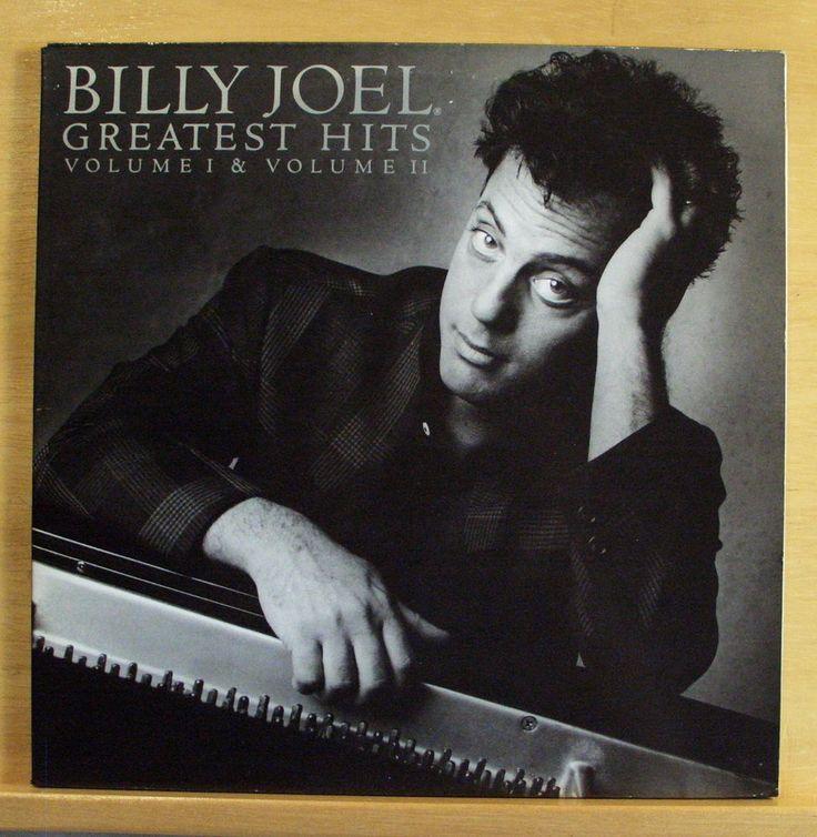 BILLY JOEL Greatest Hits Volume I & II - Vinyl 2-LP  Piano Man The Stranger RARE