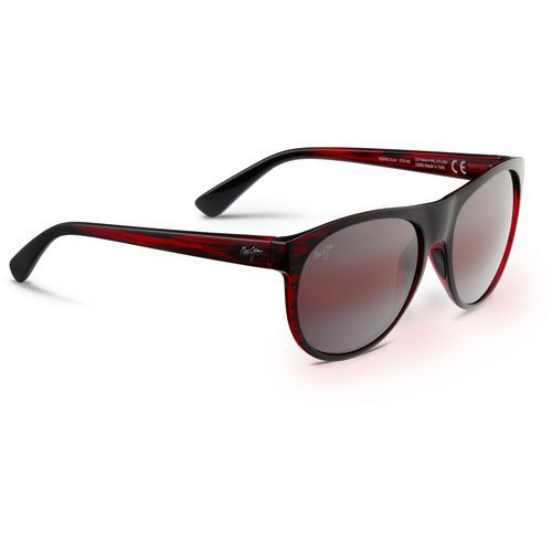 Maui Jim Rising Sun Sunglasses Red Dark/Light Red - Case Sunglasses at Academy Sports