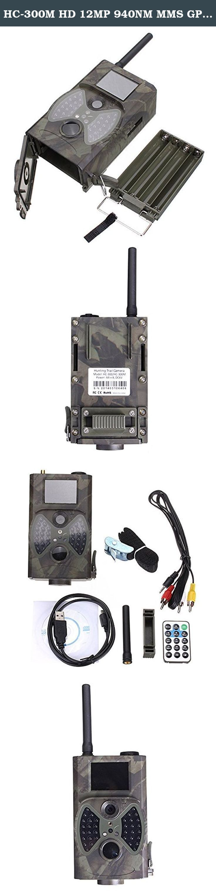 HC-300M HD 12MP 940NM MMS GPRS Scouting Infrared Trail Hunting Camera. HC-300M HD 12MP 940NM MMS GPRS Scouting Infrared Trail Hunting Camera.