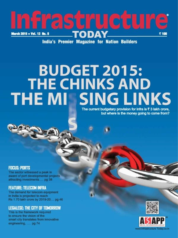 Have a copy of Infrastructure Today Magazine March 2015 issue.