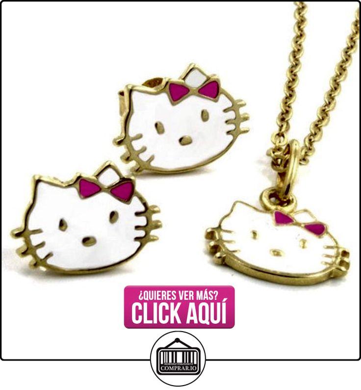 Hello Kitty Kids-niños conjunto de joyas chapado en oro de joyería-oro tono  ✿ Joyas para niñas - Regalos ✿ ▬► Ver oferta: http://comprar.io/goto/B01AUKZVYO