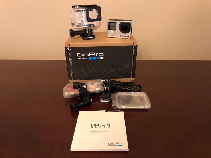 GoPro HERO4 Black (Manufacturer Refurbished w/firmware upgrade)