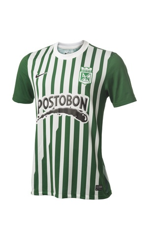 Atletico Nacional 2013 Nike Home Shirt