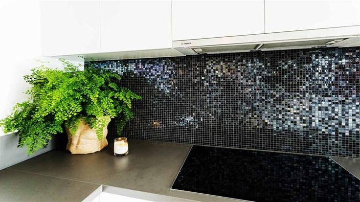 Neale said the tiled splashback was what was killing the room for him.
