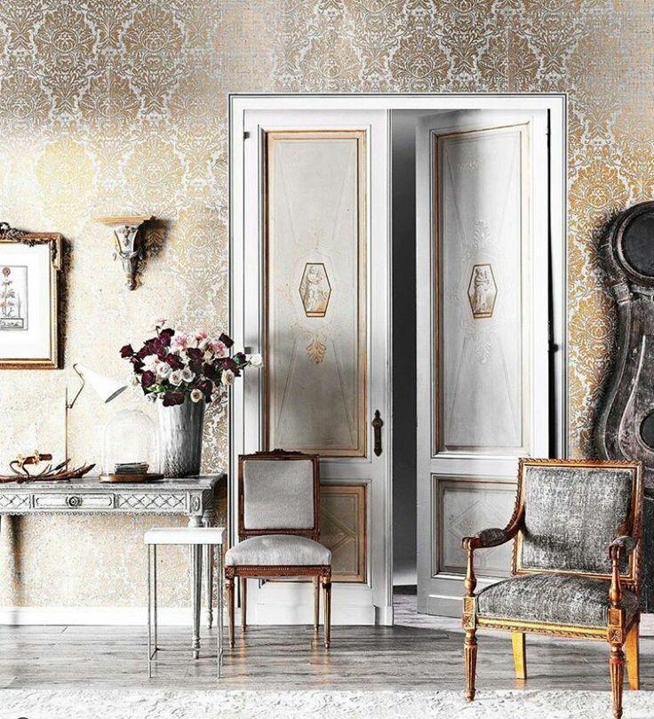 Salon doors in Belle magazine. Styled by Steve Cordony.