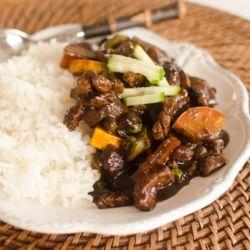 Korean Chinese Cuisine: Jajang Bap - Black Curry Rice