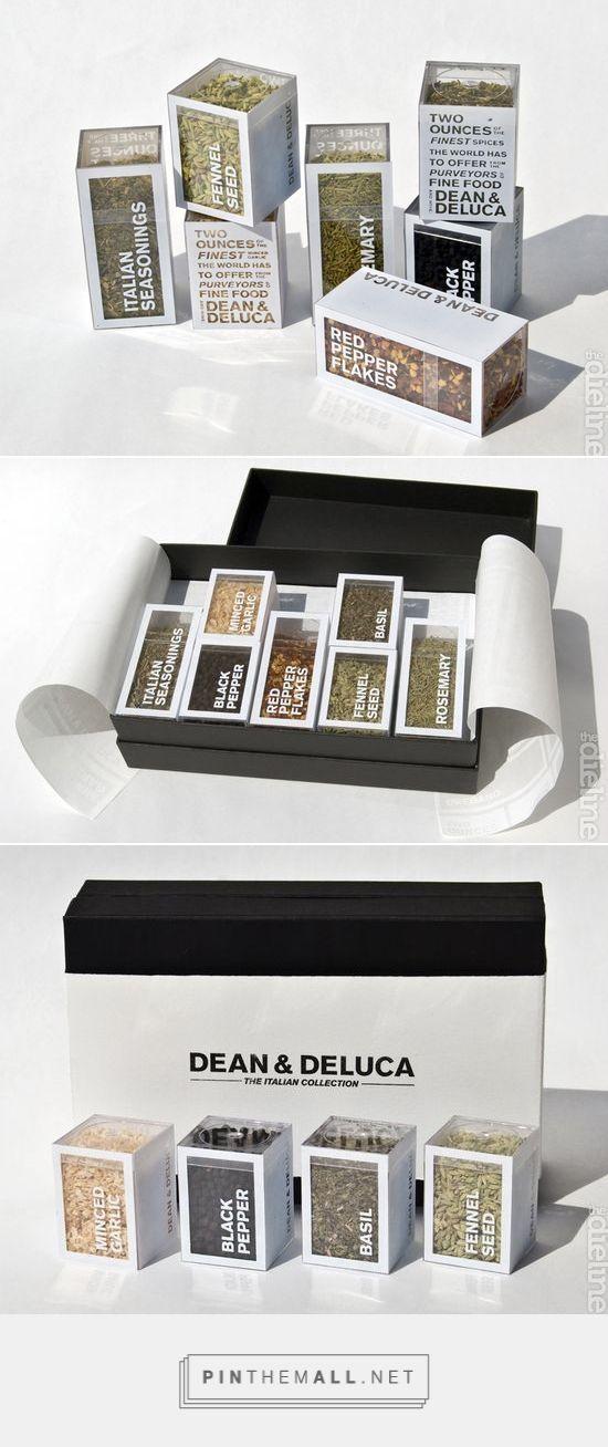 Dean & Deluca Italian Spice Collection Packaging by Zack Zollars | Fivestar Branding – Design and Branding Agency & Inspiration Gallery | #PackagingInspiration