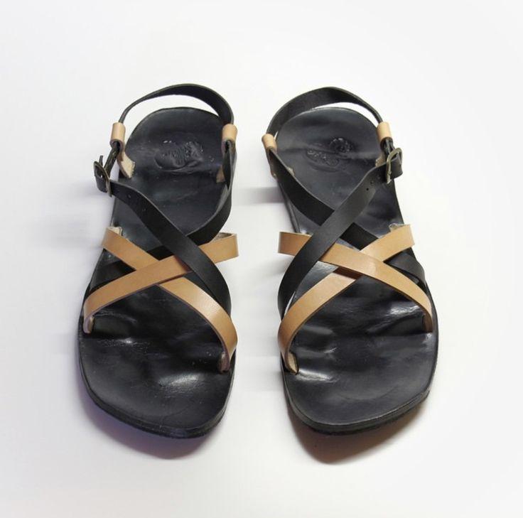 Handmade Greek men sandals fashion sandals