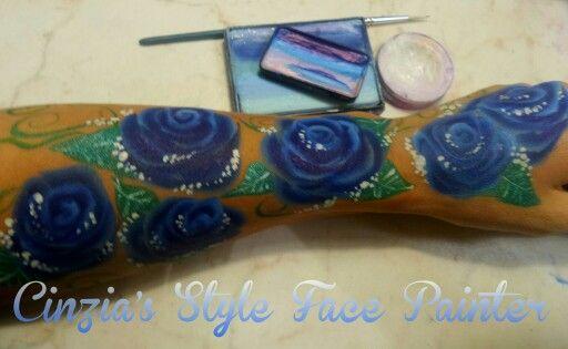 Rose , truccabimbi,  split cakes tecniche