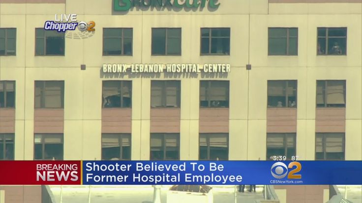 Gunman Wearing White Lab Coat Published on Jun 30, 2017 A man reportedly armed with an assault rifle has barricaded himself inside of Bronx-Lebanon Hospital. Several people have reportedly been shot. The NYPD has launched a Level 1 mobilization.