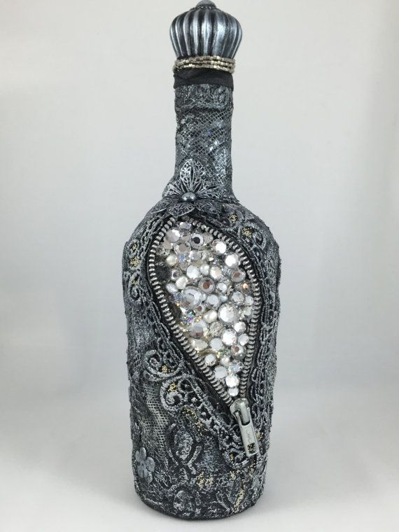 Found Treasure - Altered Bottle